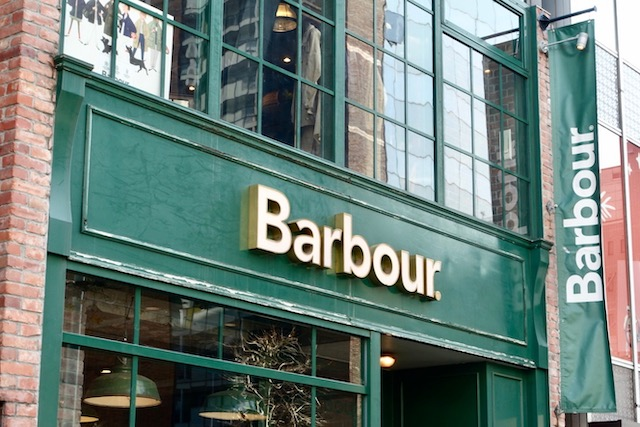 Barbour渋谷店(2021.02)