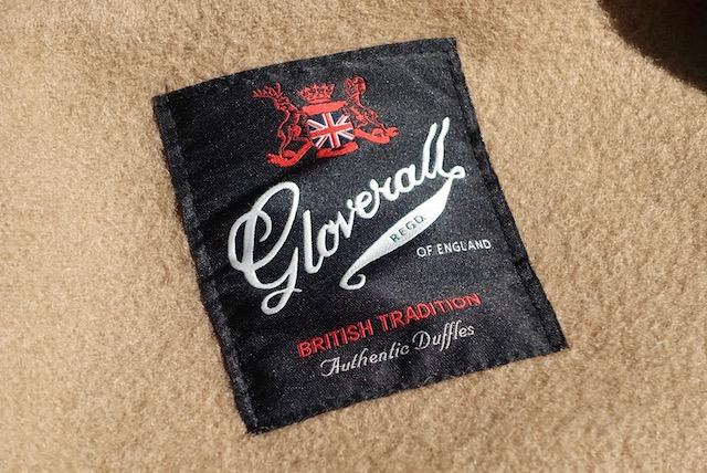 グローバーオール社のロゴ(製品タグ)