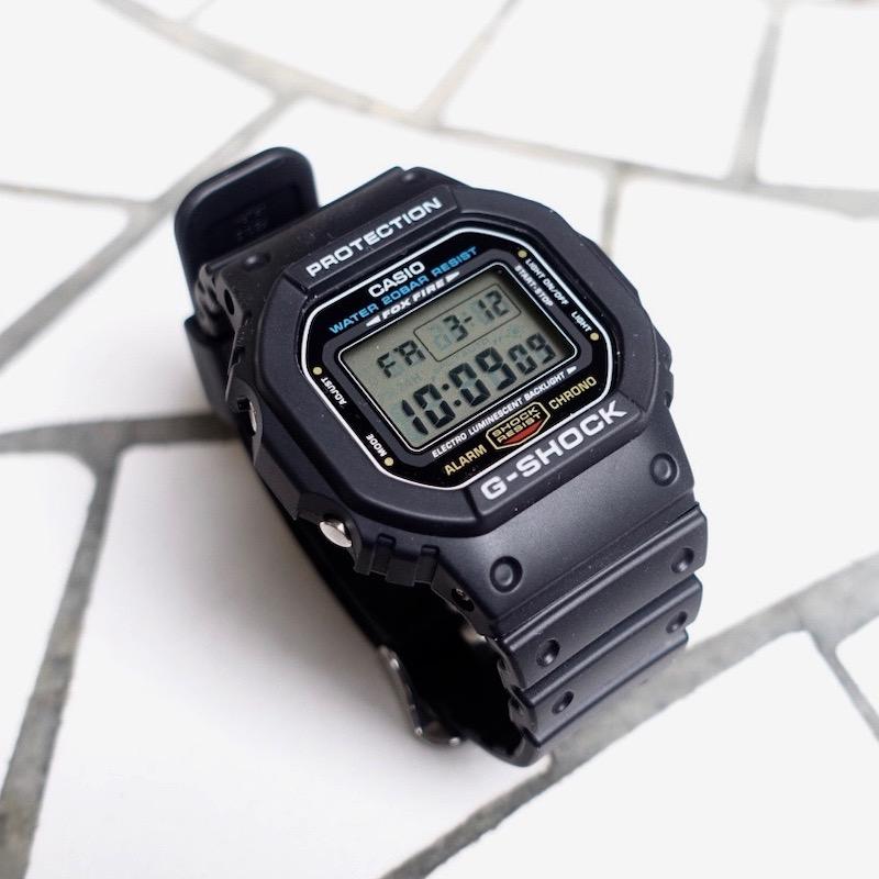 "Casio ""G-Shock"" DW-5600E-1"