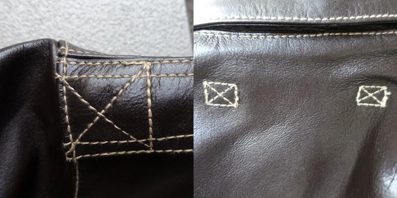 モーガンのType A-2(縫製)