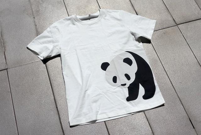 無印良品のプリントTシャツ(ジャイアントパンダ)
