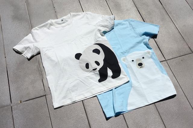 無印良品のプリントTシャツ(外観)