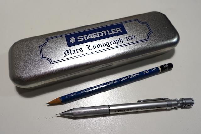 ドイツの筆記具(ステッドラー)