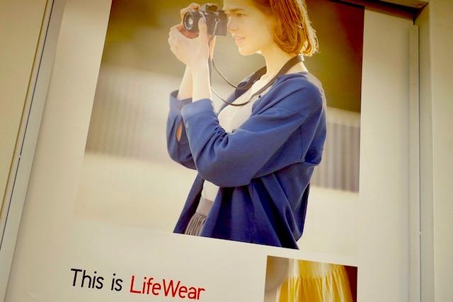 ユニクロ、LifeWear