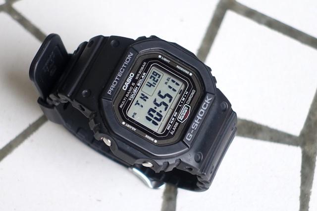 カシオのGW-5000-1JF(外観)