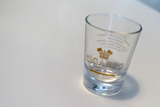 シガーロのマウスウォッシュ(ショットグラス)