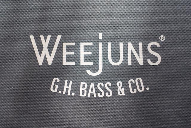 G.H.Bass (Weejunsロゴ、パッケージ)