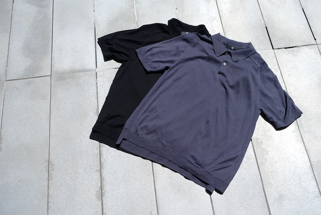 ユニクロ+Jのシルクコットンニットポロシャツ(外観)