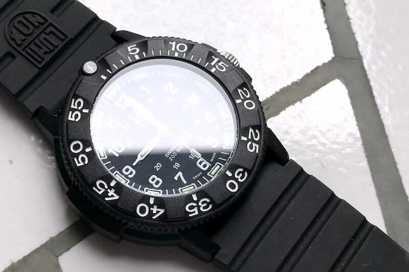 ルミノックスのRef. 3001(風防)