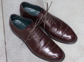 宮城興業の謹製誂靴(外観)