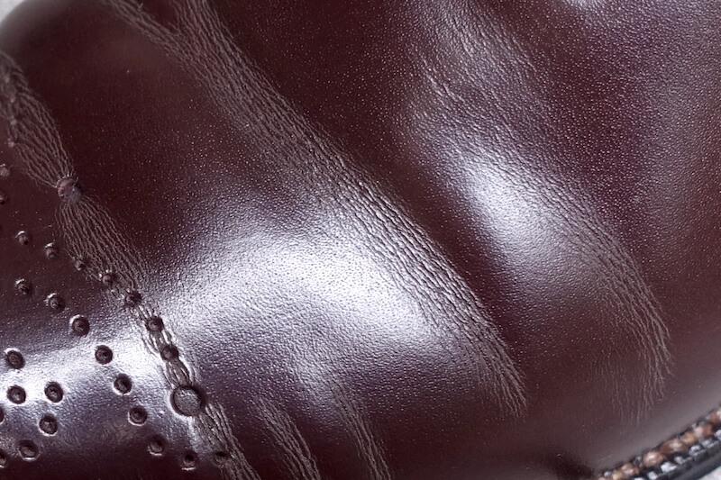 宮城興業の謹製誂靴「純」(甲革)