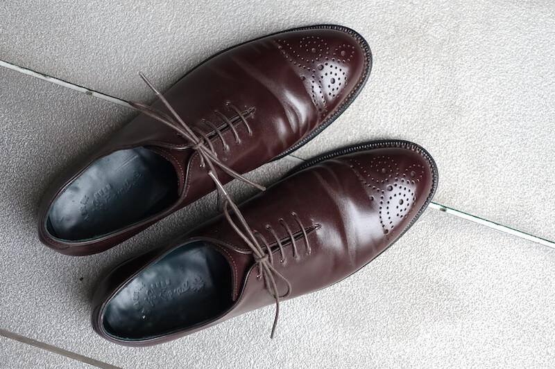 宮城興業の謹製誂靴「純」(外観)