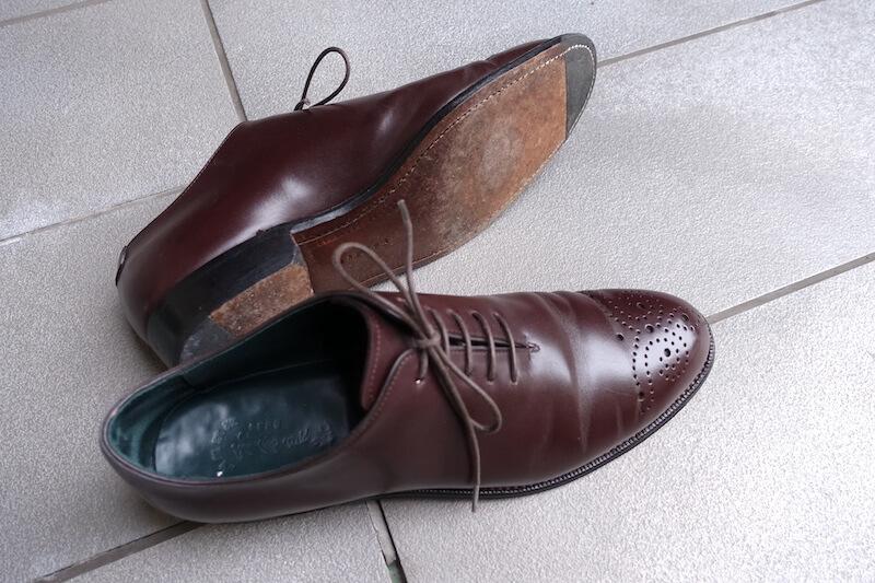 宮城興業の謹製誂靴(革底)