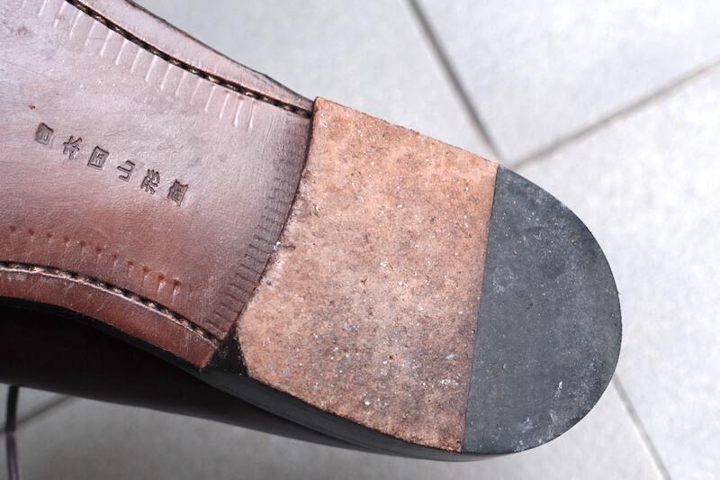 宮城興業の謹製誂靴「純」(ヒール仕様)