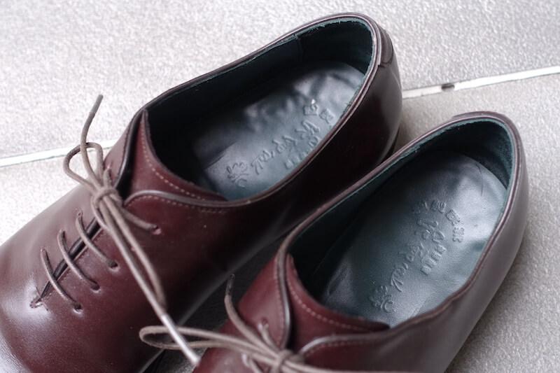 宮城興業の謹製誂靴「純」(ソック)