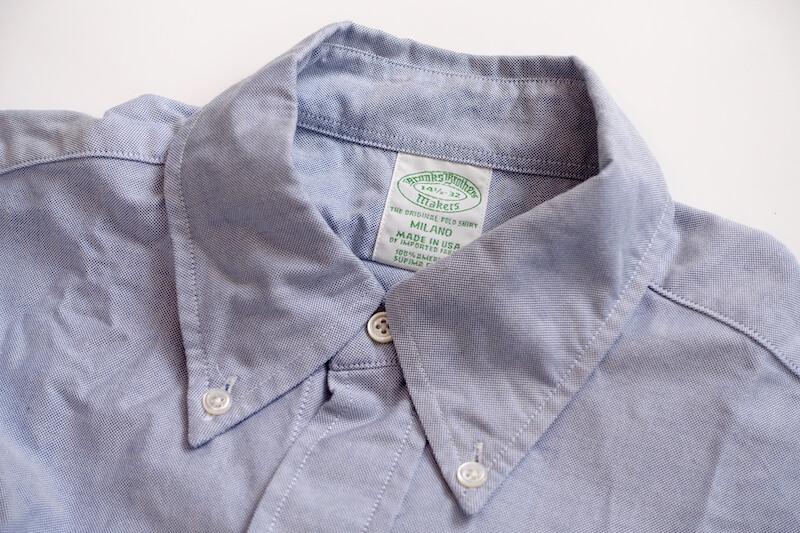 ブルックス・ブラザーズのBDシャツ(外観)