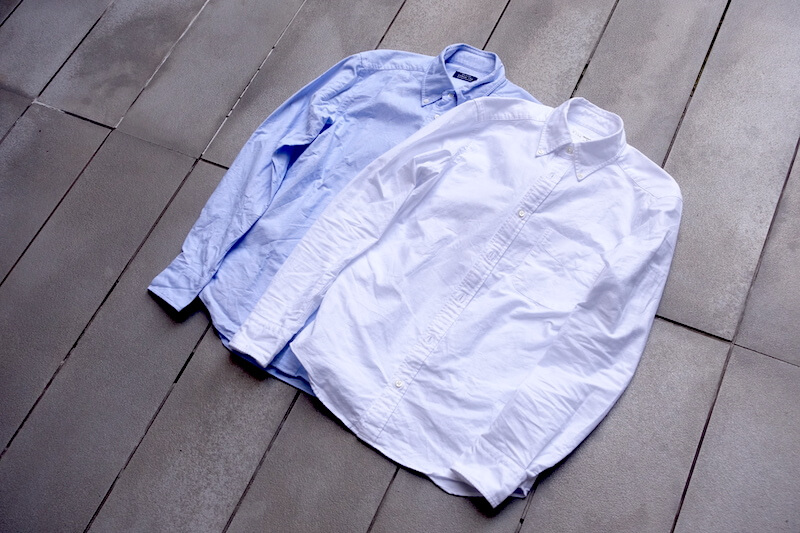鎌倉シャツ、カジュアル134のBDシャツ(外観)