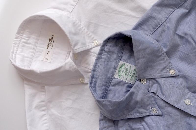 鎌倉シャツのカジュアル134のBDシャツ(ブルックスブラザーズと)