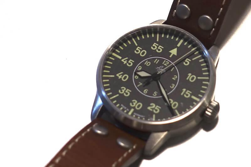 シチズン系ムーブメントの腕時計(ラコのアーヘン)
