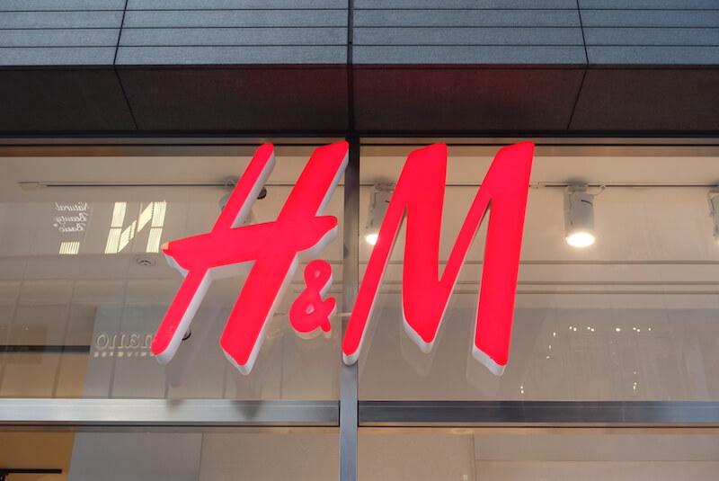 H&M(ロゴ、店頭)